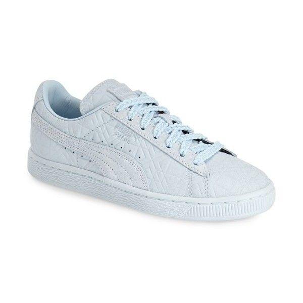 light blue puma shoes