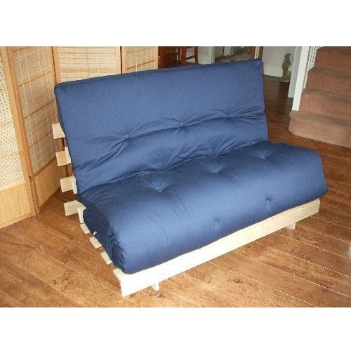 Here at Futons First we are very proud to offer you thisspecial offer. We havequality Pine a-frame bases and 6 layer futons at amazing prices. It is availableineither standard single bed size (2'6), small double (4′) or standard double bed size (4'6) and in a choice of eitherNatural, Brownor Pink fabric (samples available, please call ... Read more...