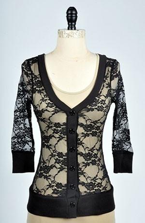 I want thiss.Lacey Cardigans, Black Cardigans, Style, Buy, Fashion Fashion, Clothing Xd, Lacy Cardigans, Cardigans Sweaters