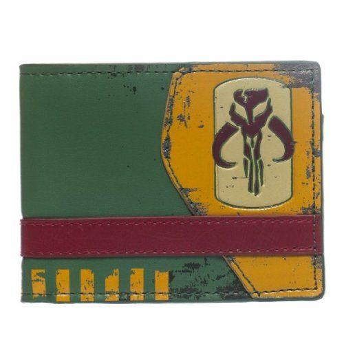 Star Wars Mandalorian Green Bi-Fold Wallet //Price: $11.99 & FREE Shipping //     #starwarsmeme