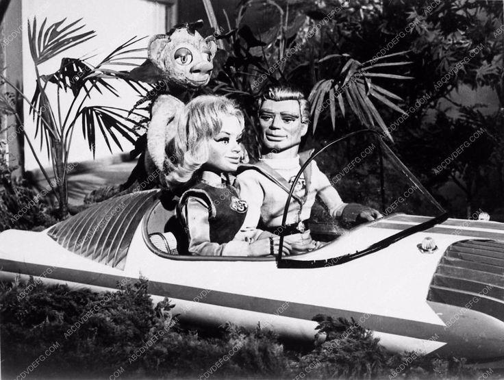 photo marionettes TV show Fireball XL5 Gerry & Sylvia Anderson 3643-19