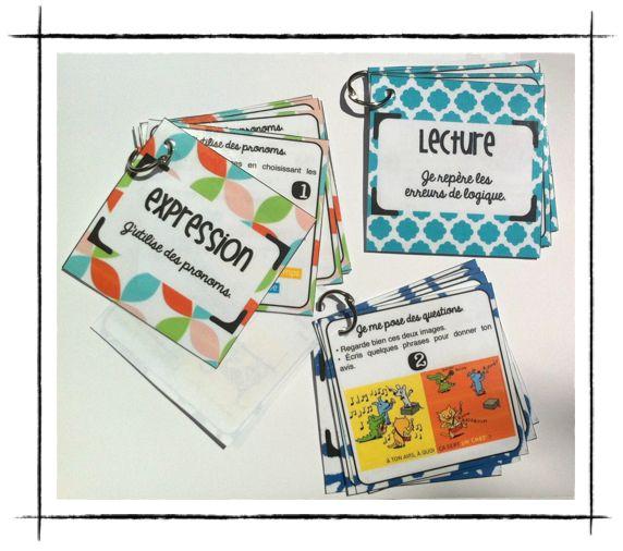 Autonomix ! Les cartes de français. - Mélimélune À imprimer!!!!!!!!!