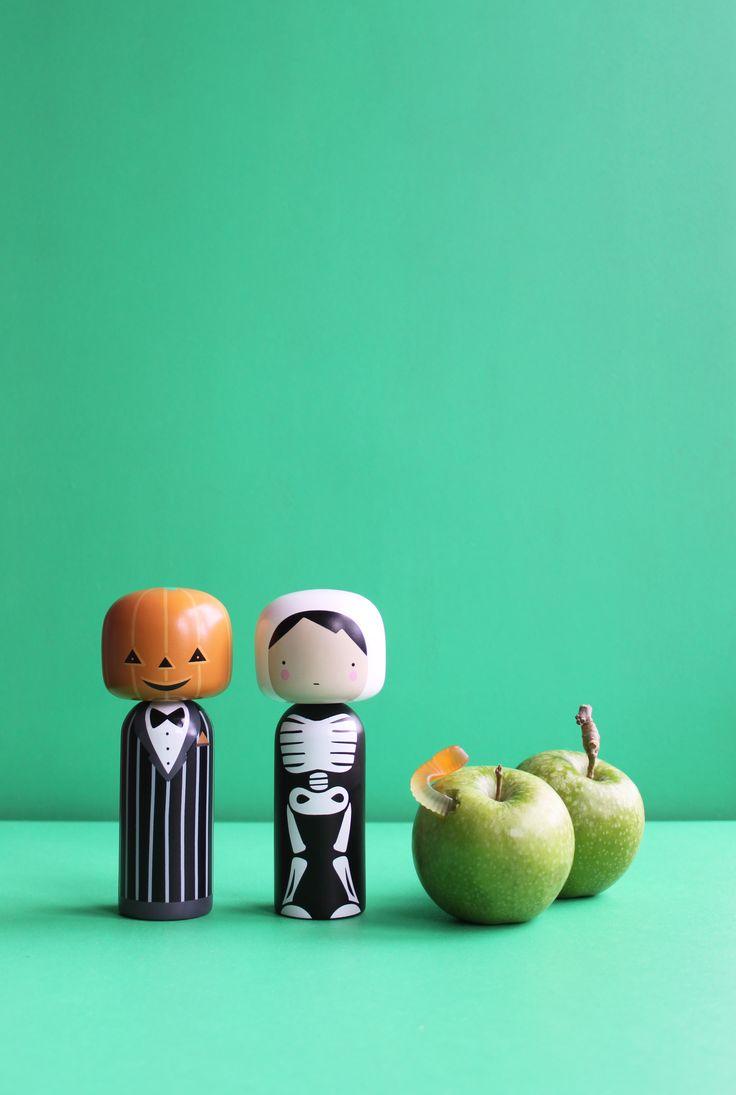 Sketch.inc Kokeshi Dolls - Halloween  /  Lucie Kaas