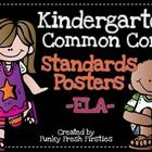If your district is like mine... you are being asked to display your Common Core standards in the classroom.  This download has ALL of the kinderga...