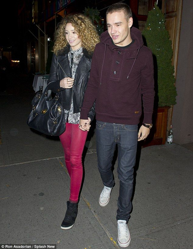 Liam's favorite....curly-haired Danielle. :)