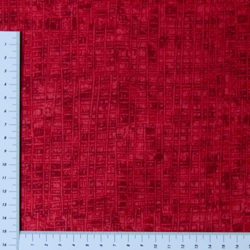 Patchwork-Rot-dunkel-Streifen-Ton-in-Ton-1-35m-Breit-Serie-in-vielen-Farben