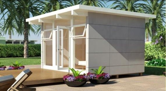 1000 images about storage sheds on pinterest modern for Small modern shed