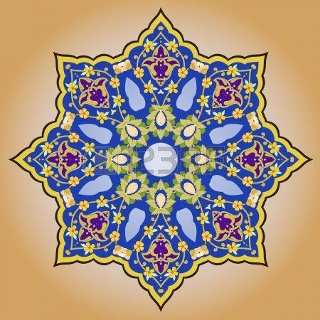 Vektor der traditionellen persischen-Arabic-T?sch-Islamische Muster photo
