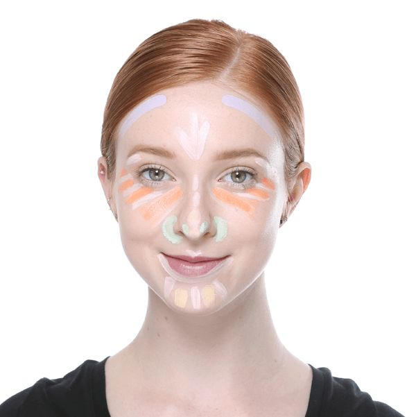 how to use color correcting concealer - Concealer Color Guide