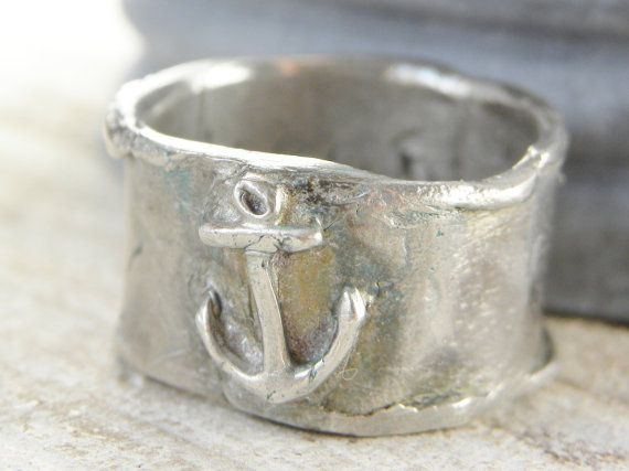 rustic anchor ring by Simple Daisy