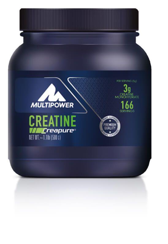 Multipower Creatine 500 gr (kreatin), servis başına 3 gr %100 saf kreatin içeren toz formda amino asit takviyesidir. Multipower Creatine saf Creapure® içerir ve kısa süreli yoğun egzersizlerde performans artışı için yardımcı olabilir. Vejeteryan ve vegan beslenme için uygundur.
