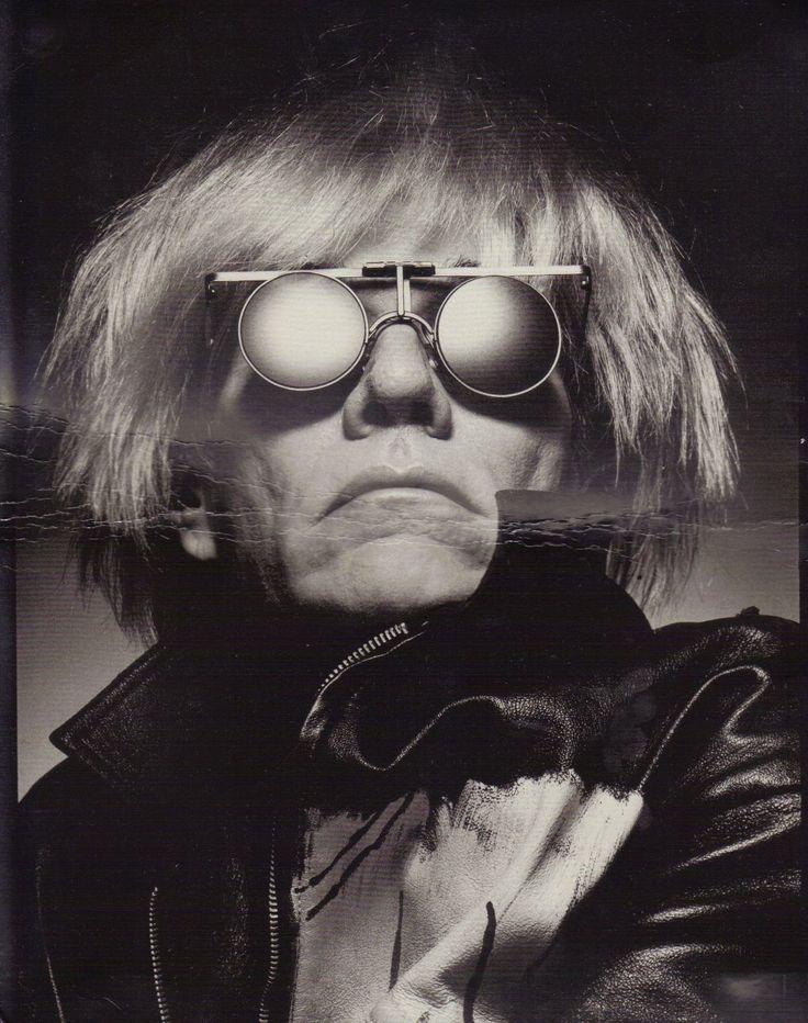 Andy Warhol, 1983. Photograph by Albert Watson.