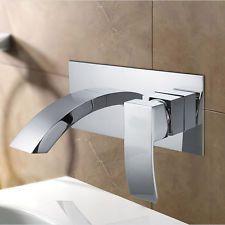 Design Wandarmatur Waschtischarmatur Einhebelmischer chrom Wasserhahn CA14160C