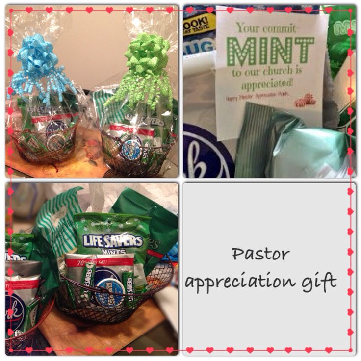 A gift to our Pastor and his wife , for Pastor ...