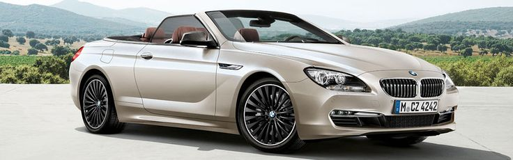 An open invitation. The BMW 6 Series Cabriolet.