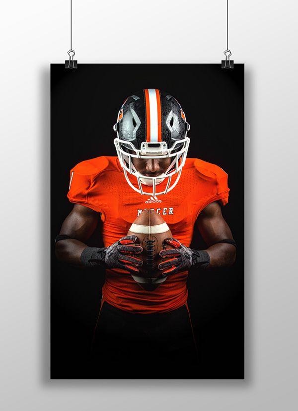 2014 Mercer Football Promotional (in progress) on Behance