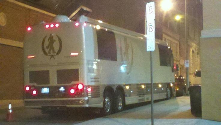 Loretta Lynn's Tour Bus-Notice the coal miner on the back