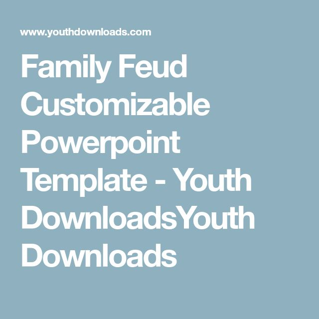 best 25+ family feud game questions ideas on pinterest | play, Powerpoint templates
