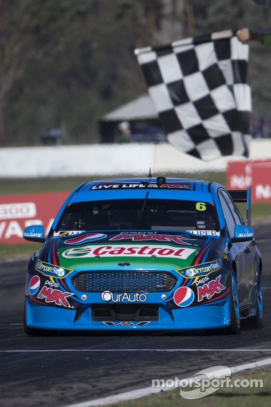 Chaz Mostert, Prodrive Racing Australia Ford takes the win