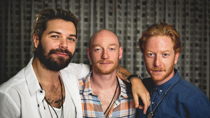Scottish band Biffy Clyro Slottsfjell 2013, photo by Tom Øverlie