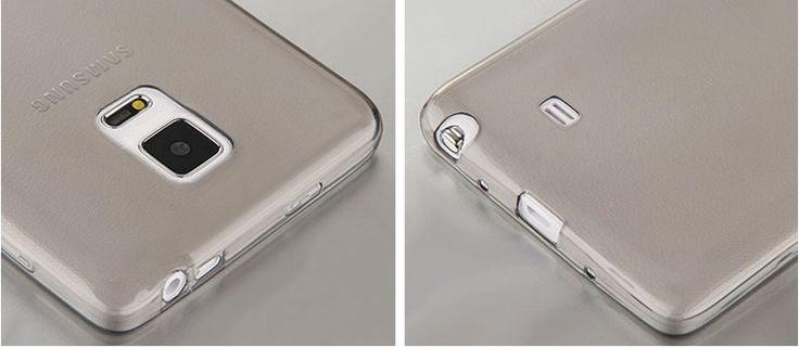 Cheap Slim Pink Silicone Samsung Galaxy Note Edge Case SGNE02_20