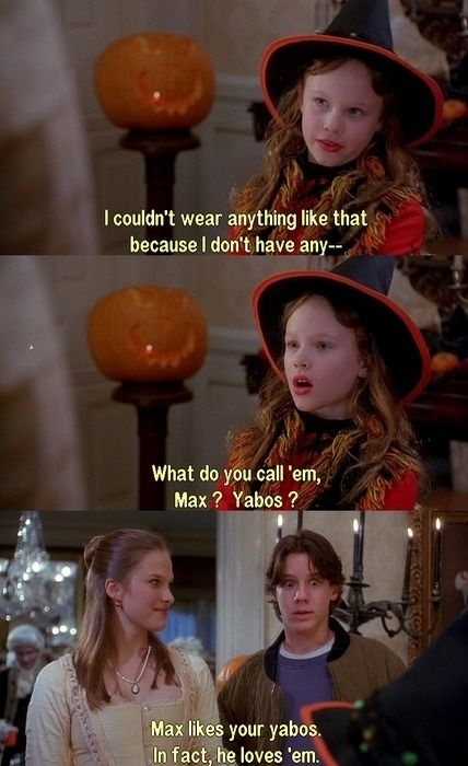 We all probably blushed&giggled at this as children...#hocuspocus