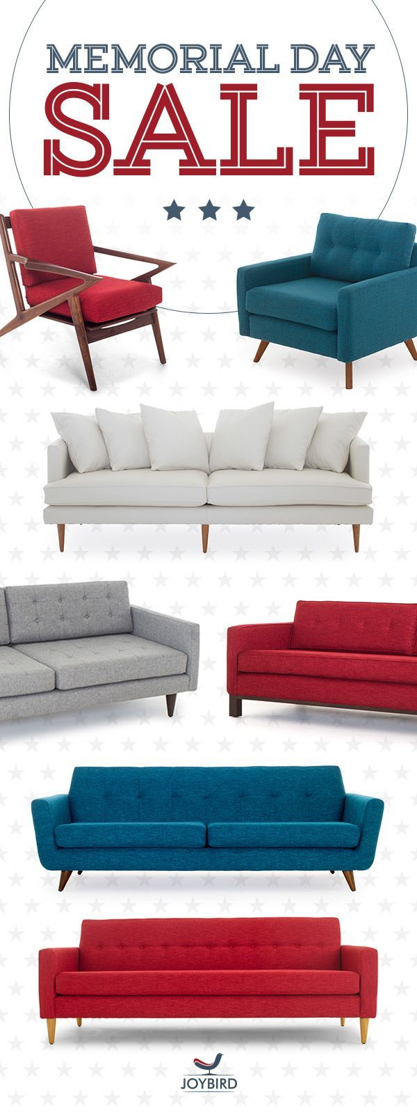 Discover our handcrafted custom mid century modern furniture in incredible  fabric and leather options  built from responsibly sourced materials. Best 25  Memorial day furniture sales ideas on Pinterest   Choice