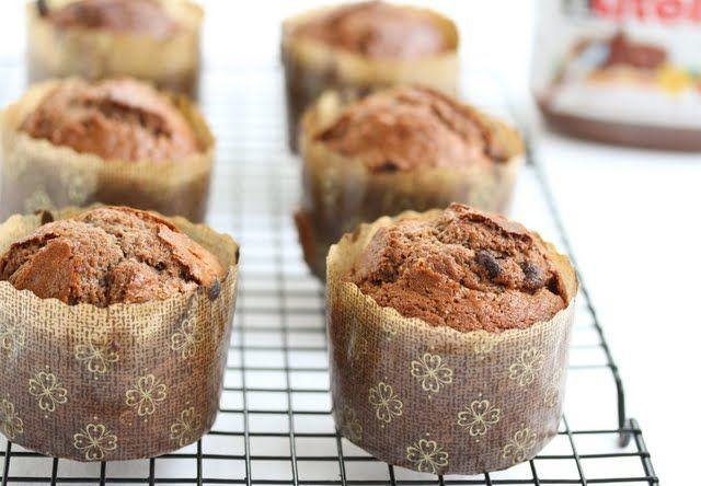Nutella Muffins | Kirbie's Cravings | A San Diego food blog