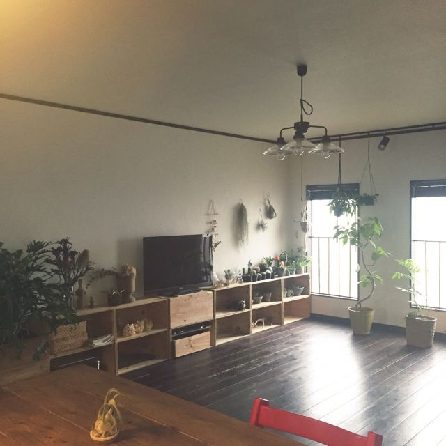 romimushiさんの、中古住宅,リノベーション,リビング,のお部屋写真