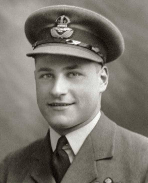 """One of the first Canadian aces of the war, F/O Allan B """"Benjy"""" Angus of No 85 Squadron RAF was killed in combat with 1/JG27 at 15.00, aged 22, when Hurricane Mk I VY-C was shot down southwest of Lille after claiming 2 victories on 16 May 1940. The citation of the DFC he received on 31 May recorded that he had claimed 5 enemy aircraft destroyed, including a He 111 he shared with P/O William D """"Dennis"""" David of No 87 Squadron RAF on 14 May."""