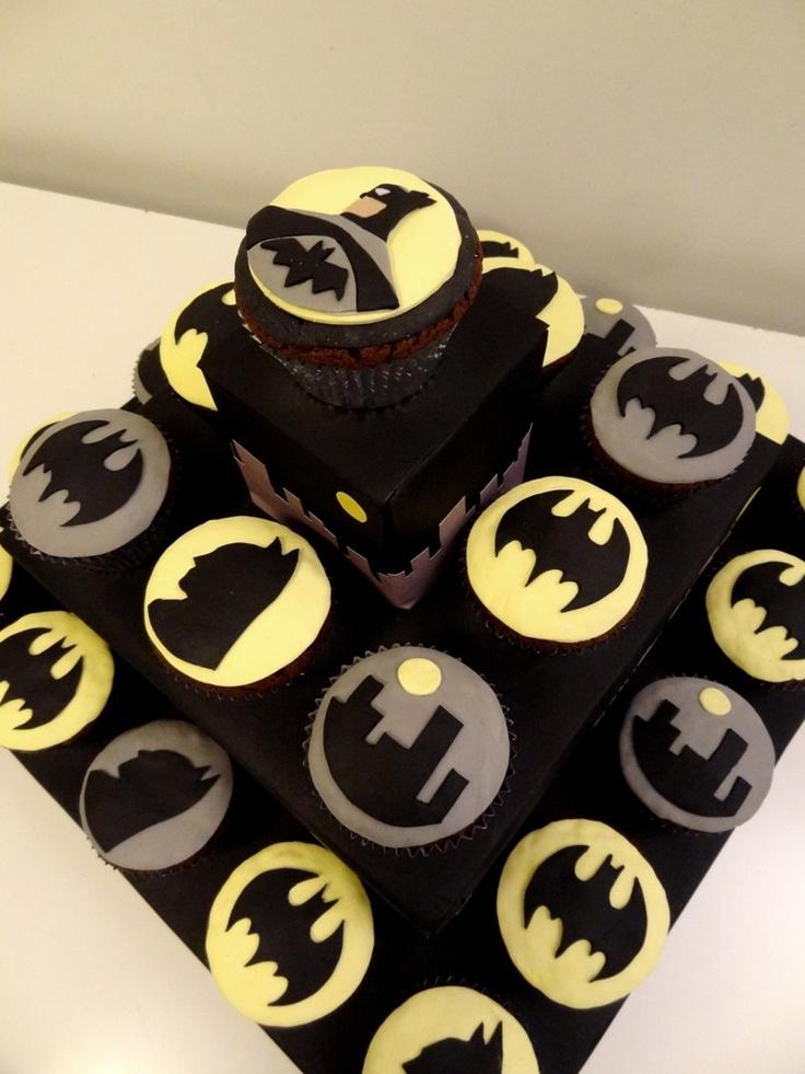 BATMAN FOREVER  Cupcakes