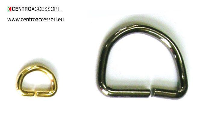 Mezzo anello 1253-1261. Metal rings 1253-1261. #CentroAccessori