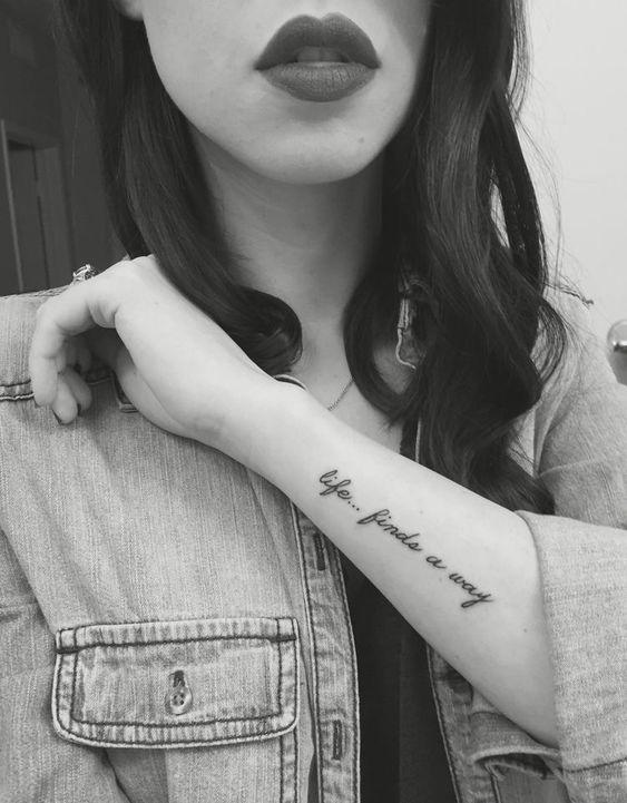 Tatuajes En El Antebrazo Con Frases 6 Tatuajes Refranes Del
