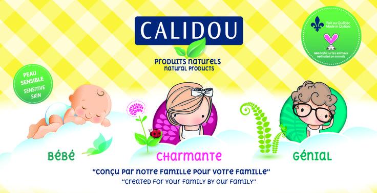 Calidou produits naturels Calidou Natural products #girl #boy #baby #protection