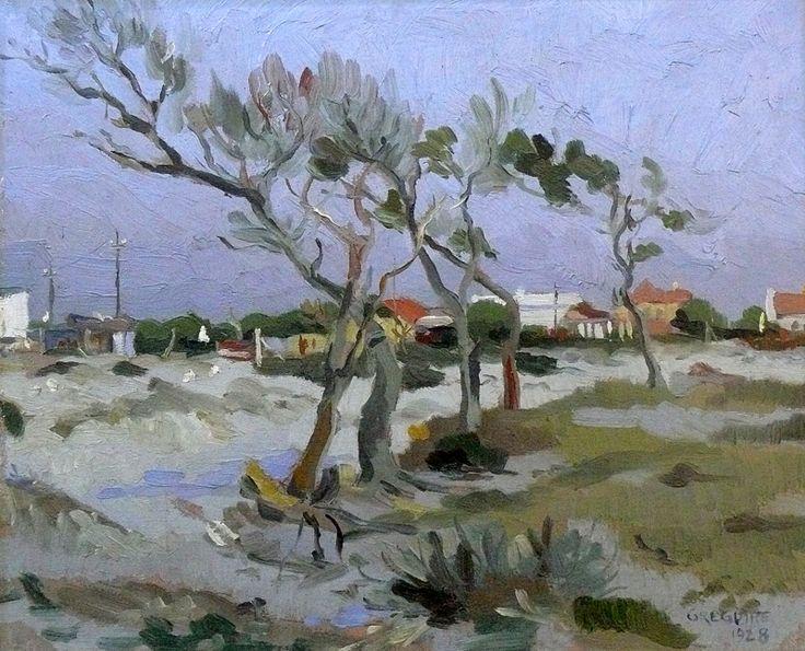 Sold | Boonzaier, Gregoire | Winters Day - Cape flats