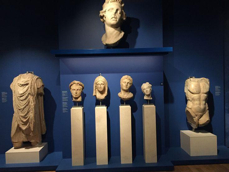 Rijksmuseum van oudheden in Leiden.