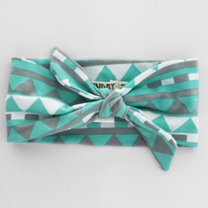 Mint Geometric Headband by Sunday the Label available now at www.blakeandleo.co.nz
