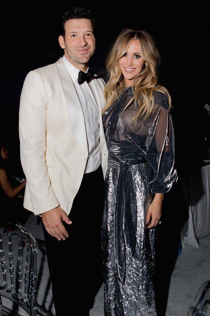 Pregnant Celebrities 2017 | POPSUGAR Celebrity Photo 10  Tony and Candice Crawford Romo expecting baby #3.