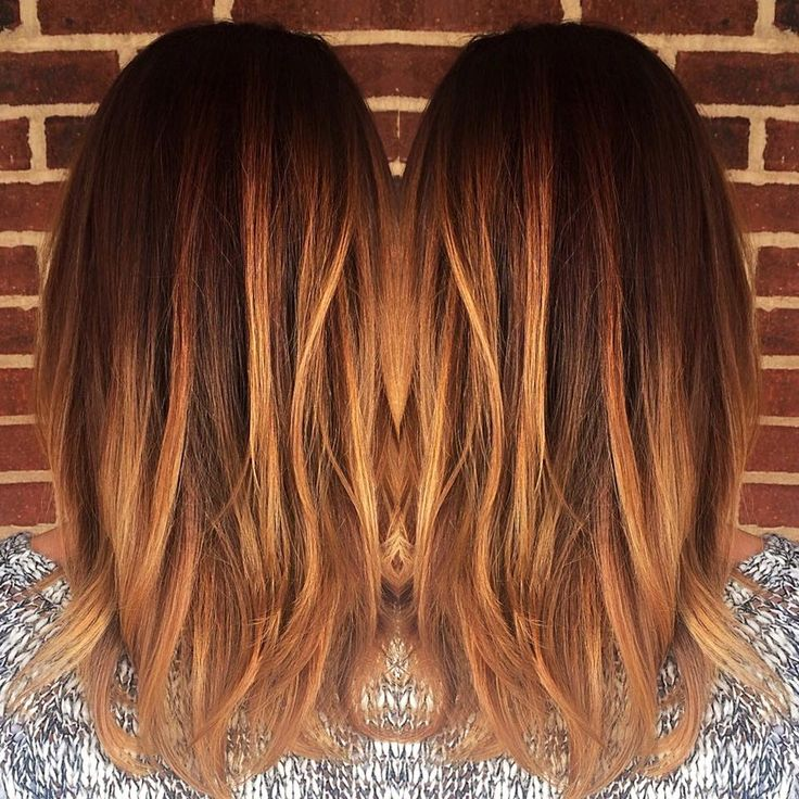 die besten 25 copper balayage ideen auf pinterest rotbraunes haar kupferrotes. Black Bedroom Furniture Sets. Home Design Ideas