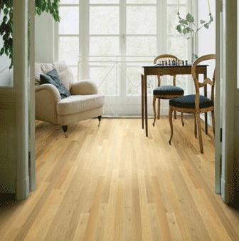 White Oak Pioneer Hardwood Floor