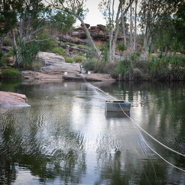 Manning Gorge, King Leopold Ranges, Australia � by See Something New. Is this the best start to a bushwalk ever? At Manning Gorge on the Gibb River road you start your hike to their...