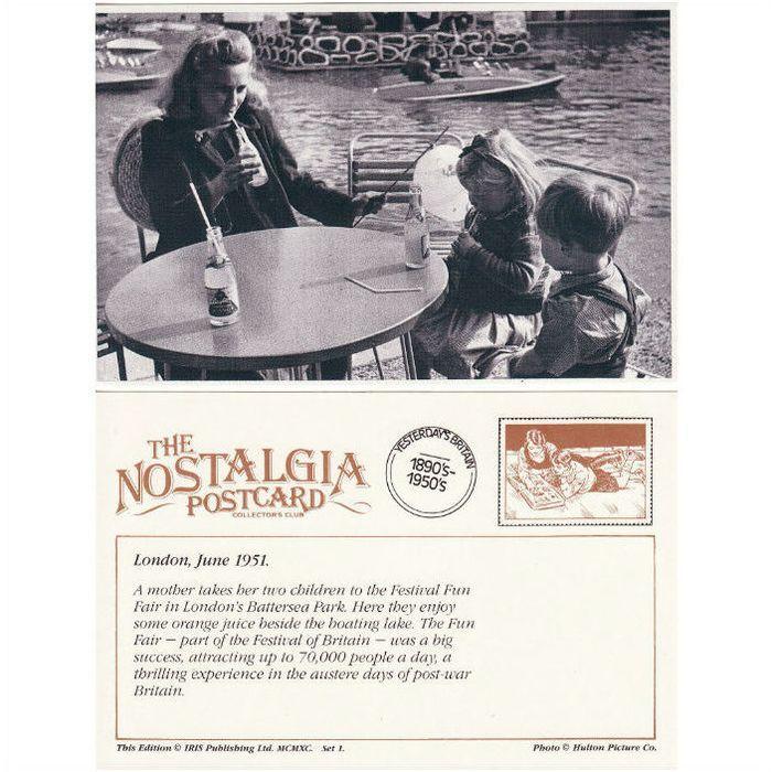 Postcard Festival Fun Fair Battersea Park London 1951 Nostalgia Anuncios en la Categoría Parques de Atracciones y Ferias,Tarjetas Postales,Artículos Coleccionables de eBid España | 70735486