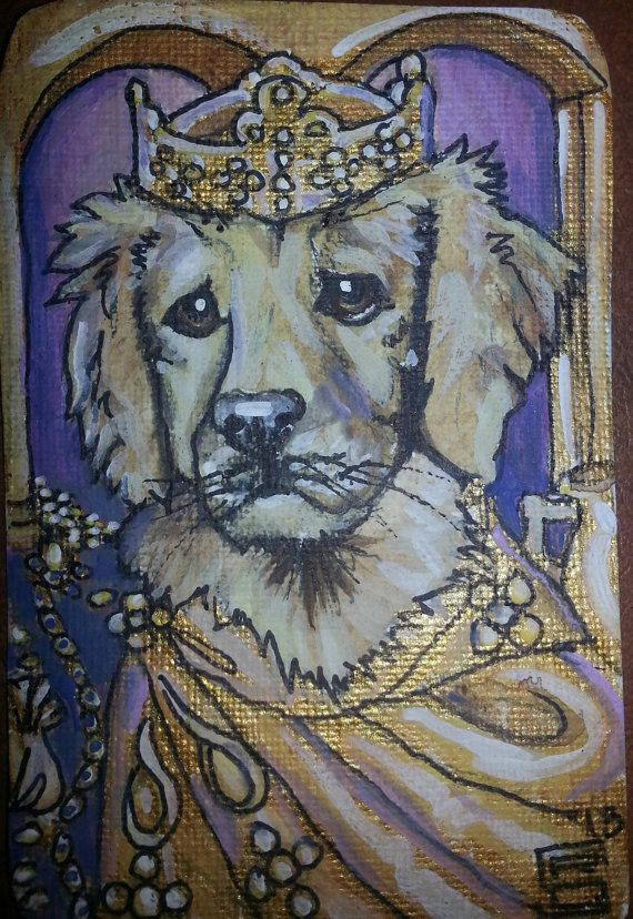 7 best Shelly Lampshire Originals Dog ACEO ATC images on Pinterest - best of coloring pages of king midas