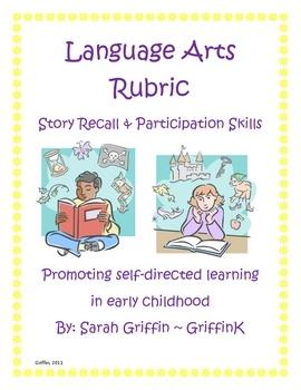 kindergarten rubric!!!