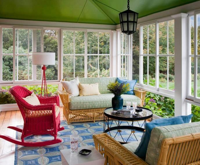 Sunroom Color Ideas Sun Room