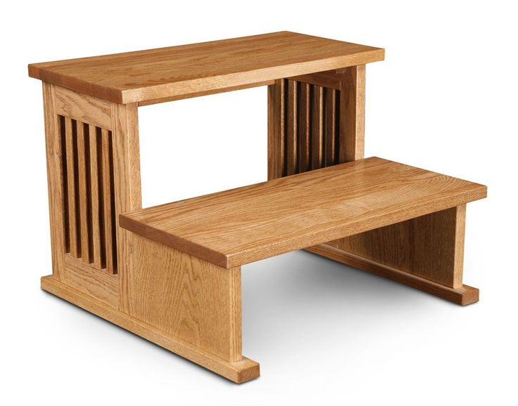 Mission Step Stool Handcrafted By Simply Amish Step