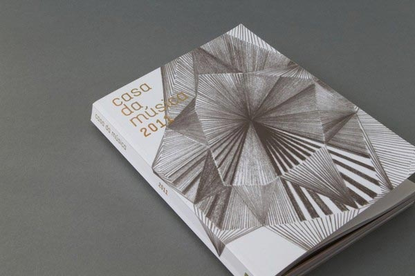 Casa da Música Programme Book | Book Cover Designed by Sara Westermann