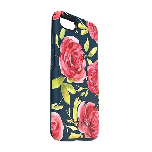 OtterBox - Symmetry Series Case for Apple® iPhone® 7 - Bouquet - Larger Front