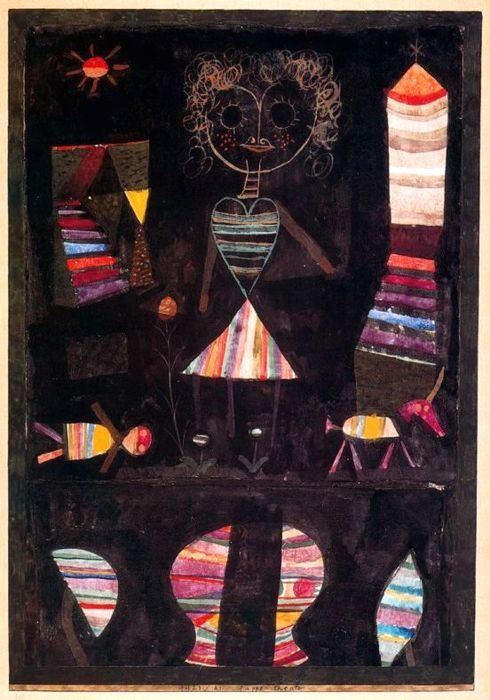 Puppet theatre. Paul Klee, 1923.