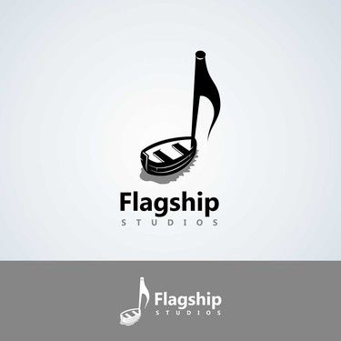 Entries | Design an attractive, professional logo for Flagship Studios, a modern recording studio! | Logo design contest